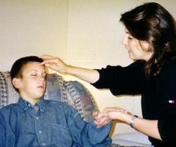 Hypnosis Training Client Hypnotized