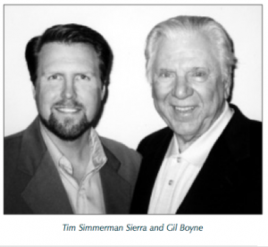 Tim Simmerman Sierra and Gil Boyne Hypnosis Training