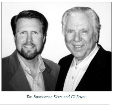 Tim Simmerman Sierra and Gil Boyne Hypnosis Training