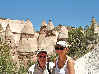 Tent Rocks National Park, Cochiti, NM Hypnotherapy Training Recreation