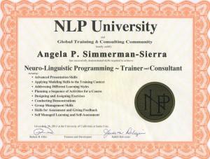 NLP trainer cert