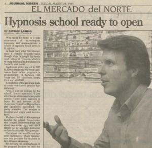 Tim Simmerman Sierra Hypnosis School
