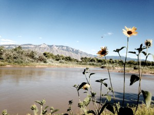 Hiking Path on the Rio Grande, 20 Minutes Away From the Academy