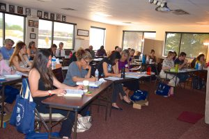 Hypnotherapy, Modue 3 Students Take The Written Test